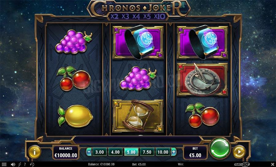Chronos Joker Slot Machine