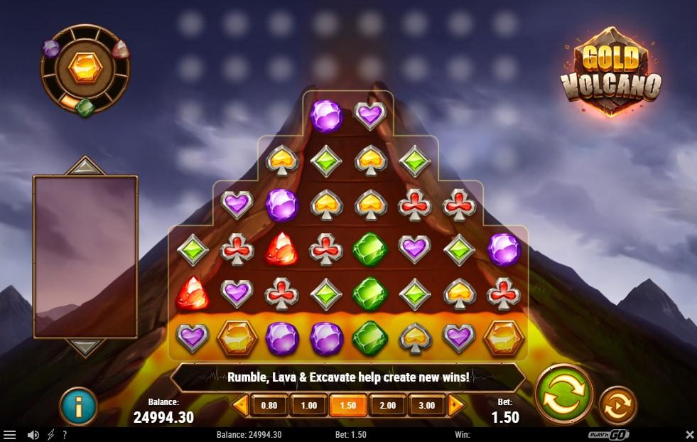 Gold Volcano Slot Machine