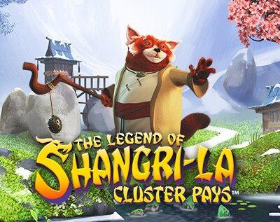 The Legend Of Shangri La: Cluster Pays