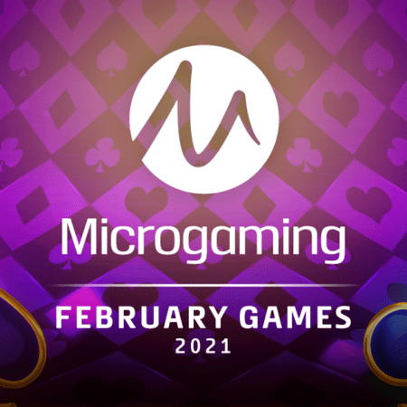 Microgaming propels into February with the release of a staggering 20+ new games